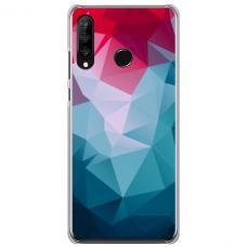 "Tpu Dėklas Unikaliu Dizainu 1.0 Mm ""U-Case Airskin Pattern 8 Design"" Huawei P40 Lite E Telefonui"