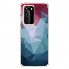 "Tpu Dėklas Unikaliu Dizainu 1.0 Mm ""U-Case Airskin Pattern 8 Design"" Huawei P40 Pro Telefonui"
