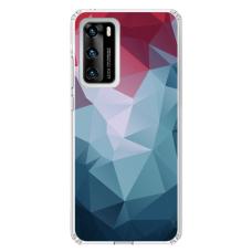 "Tpu Dėklas Unikaliu Dizainu 1.0 Mm ""U-Case Airskin Pattern 8 Design"" Huawei P40 Telefonui"