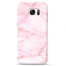 "Tpu Dėklas Unikaliu Dizainu 1.0 Mm ""U-Case Airskin Marble 5 Design"" Samsung Galaxy S6 Edge Telefonui"
