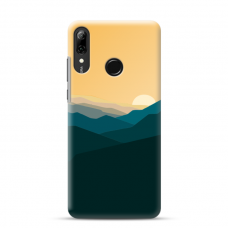 "Tpu Dėklas Unikaliu Dizainu 1.0 Mm ""U-Case Airskin Mountains 2 Design"" Huawei P Smart 2019 Telefonui"