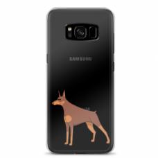 "Tpu Dėklas Unikaliu Dizainu 1.0 Mm ""U-Case Airskin Doggo 6 Design"" Samsung Galaxy S8 Telefonui"