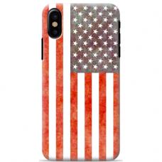 """Tpu Dėklas Unikaliu Dizainu 1.0 Mm """"U-Case Airskin Usa Design"""" Iphone Xs Max Telefonui"""