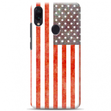 "Tpu Dėklas Unikaliu Dizainu 1.0 Mm ""U-Case Airskin Usa Design"" Samsung Galaxy A20E Telefonui"