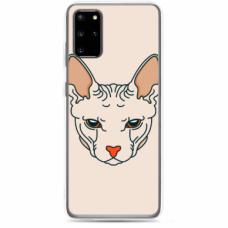 "Tpu Dėklas Unikaliu Dizainu 1.0 Mm ""U-Case Airskin Kato Design"" Samsung Galaxy S10 Lite Telefonui"