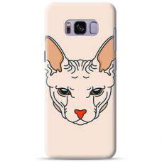 "Tpu Dėklas Unikaliu Dizainu 1.0 Mm ""U-Case Airskin Kato Design"" Samsung Galaxy S8 Telefonui"