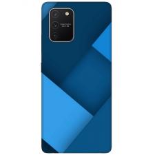 """Tpu Dėklas Unikaliu Dizainu 1.0 Mm """"U-Case Airskin Blue Design"""" Samsung Galaxy S10 Lite Telefonui"""