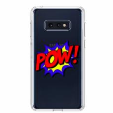 "Tpu Dėklas Unikaliu Dizainu 1.0 Mm ""U-Case Airskin Pow Design"" Samsung Galaxy S10E Telefonui"