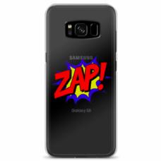 "Tpu Dėklas Unikaliu Dizainu 1.0 Mm ""U-Case Airskin Zap Design"" Samsung Galaxy S8 Telefonui"