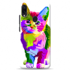 "Tpu Dėklas Unikaliu Dizainu 1.0 Mm ""U-Case Airskin Kitty Design"" Samsung Galaxy A40 Telefonui"