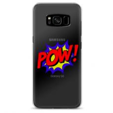 """Tpu Dėklas Unikaliu Dizainu 1.0 Mm """"U-Case Airskin Pow Design"""" Samsung Galaxy S8 Plus Telefonui"""