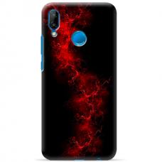 "Tpu Dėklas Unikaliu Dizainu 1.0 Mm ""U-Case Airskin Space 3 Design"" Huawei P Smart 2019 Telefonui"