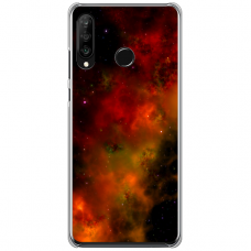 "Tpu Dėklas Unikaliu Dizainu 1.0 Mm ""U-Case Airskin Space 1 Design"" Huawei P40 Lite E Telefonui"