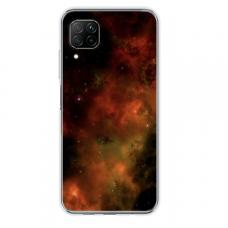 "Tpu Dėklas Unikaliu Dizainu 1.0 Mm ""U-Case Airskin Space 1 Design"" Huawei P40 Lite Telefonui"
