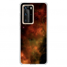 "Tpu Dėklas Unikaliu Dizainu 1.0 Mm ""U-Case Airskin Space 1 Design"" Huawei P40 Pro Telefonui"