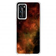"Tpu Dėklas Unikaliu Dizainu 1.0 Mm ""U-Case Airskin Space 1 Design"" Huawei P40 Telefonui"
