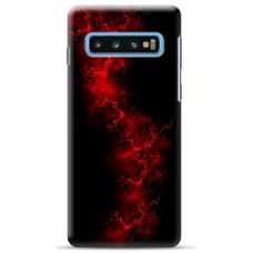"Tpu Dėklas Unikaliu Dizainu 1.0 Mm ""U-Case Airskin Space 3 Design"" Samsung Galaxy S10 Plus Telefonui"