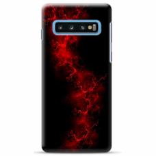 "Tpu Dėklas Unikaliu Dizainu 1.0 Mm ""U-Case Airskin Space 3 Design"" Samsung Galaxy S10 Telefonui"