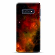 """Tpu Dėklas Unikaliu Dizainu 1.0 Mm """"U-Case Airskin Space 1 Design"""" Samsung Galaxy S10E Telefonui"""