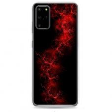 "Tpu Dėklas Unikaliu Dizainu 1.0 Mm ""U-Case Airskin Space 3 Design"" Samsung Galaxy S20 Telefonui"