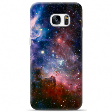 "Tpu Dėklas Unikaliu Dizainu 1.0 Mm ""U-Case Airskin Space 2 Design"" Samsung Galaxy S6 Telefonui"