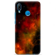 "Tpu Dėklas Unikaliu Dizainu 1.0 Mm ""U-Case Airskin Space 1 Design"" Huawei P20 Lite Telefonui"