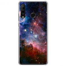 "Tpu Dėklas Unikaliu Dizainu 1.0 Mm ""U-Case Airskin Space 2 Design"" Huawei P40 Lite E Telefonui"