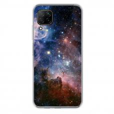 "Tpu Dėklas Unikaliu Dizainu 1.0 Mm ""U-Case Airskin Space 2 Design"" Huawei P40 Lite Telefonui"
