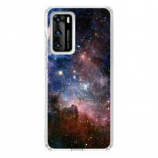 "Tpu Dėklas Unikaliu Dizainu 1.0 Mm ""U-Case Airskin Space 2 Design"" Huawei P40 Telefonui"