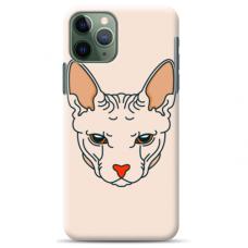 "Tpu Dėklas Unikaliu Dizainu 1.0 Mm ""U-Case Airskin Kato Design"" Iphone 11 Pro Telefonui"