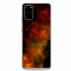 """Tpu Dėklas Unikaliu Dizainu 1.0 Mm """"U-Case Airskin Space 1 Design"""" Samsung Galaxy Note 10 Lite Telefonui"""