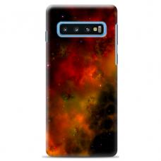 "Tpu Dėklas Unikaliu Dizainu 1.0 Mm ""U-Case Airskin Space 1 Design"" Samsung Galaxy S10 Telefonui"
