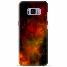 "Tpu Dėklas Unikaliu Dizainu 1.0 Mm ""U-Case Airskin Space 1 Design"" Samsung Galaxy S8 Telefonui"
