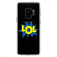 "Tpu Dėklas Unikaliu Dizainu 1.0 Mm ""U-Case Airskin Lol Design"" Samsung Galaxy S9 Plus Telefonui"