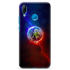 "Tpu Dėklas Unikaliu Dizainu 1.0 Mm ""U-Case Airskin Nature 4 Design"" Huawei P Smart 2019 Telefonui"