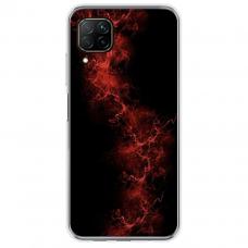 "Tpu Dėklas Unikaliu Dizainu 1.0 Mm ""U-Case Airskin Space 3 Design"" Huawei P40 Lite Telefonui"