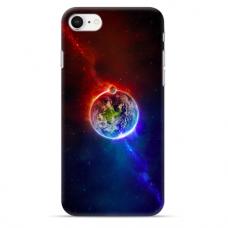 """Tpu Dėklas Unikaliu Dizainu 1.0 Mm """"U-Case Airskin Nature 4 Design"""" Iphone 7 Plus / Iphone 8 Plus Telefonui"""