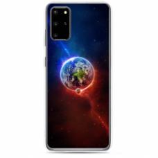"Tpu Dėklas Unikaliu Dizainu 1.0 Mm ""U-Case Airskin Nature 4 Design"" Samsung Galaxy S20 Telefonui"