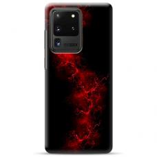 """Tpu Dėklas Unikaliu Dizainu 1.0 Mm """"U-Case Airskin Space 3 Design"""" Samsung Galaxy S20 Ultra Telefonui"""