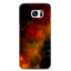 "Tpu Dėklas Unikaliu Dizainu 1.0 Mm ""U-Case Airskin Space 1 Design"" Samsung Galaxy S6 Edge Telefonui"