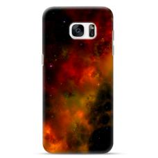 "Tpu Dėklas Unikaliu Dizainu 1.0 Mm ""U-Case Airskin Space 1 Design"" Samsung Galaxy S7 Edge Telefonui"
