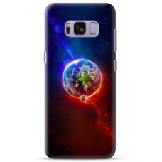 "Tpu Dėklas Unikaliu Dizainu 1.0 Mm ""U-Case Airskin Nature 4 Design"" Samsung Galaxy S8 Plus Telefonui"