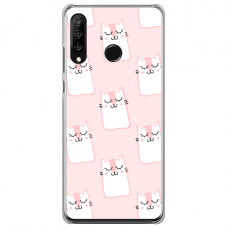 "Tpu Dėklas Unikaliu Dizainu 1.0 Mm ""U-Case Airskin Pink Kato Design"" Xiaomi Redmi 7 Telefonui"