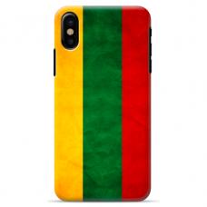 """Tpu Dėklas Unikaliu Dizainu 1.0 Mm """"U-Case Airskin Lietuva Design"""" Iphone Xs Max Telefonui"""