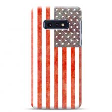 "Tpu Dėklas Unikaliu Dizainu 1.0 Mm ""U-Case Airskin Usa Design"" Samsung Galaxy S10E Telefonui"