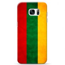 "Tpu Dėklas Unikaliu Dizainu 1.0 Mm ""U-Case Airskin Lietuva Design"" Samsung Galaxy S6 Edge Telefonui"