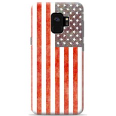 "Tpu Dėklas Unikaliu Dizainu 1.0 Mm ""U-Case Airskin Usa Design"" Samsung Galaxy A6 2018 Telefonui"