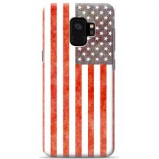 "Tpu Dėklas Unikaliu Dizainu 1.0 Mm ""U-Case Airskin Usa Design"" Samsung Galaxy S9 Plus Telefonui"