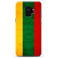 "Tpu Dėklas Unikaliu Dizainu 1.0 Mm ""U-Case Airskin Lietuva Design"" Samsung Galaxy S9 Telefonui"