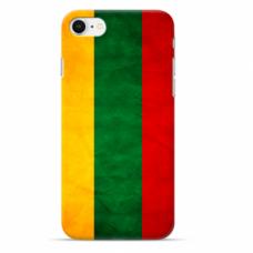 """Tpu Dėklas Unikaliu Dizainu 1.0 Mm """"U-Case Airskin Lietuva Design"""" Iphone 6 / Iphone 6S Telefonui"""